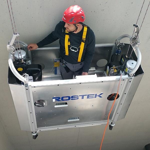 Rostek BMU2 Cradle - Suspended Platform