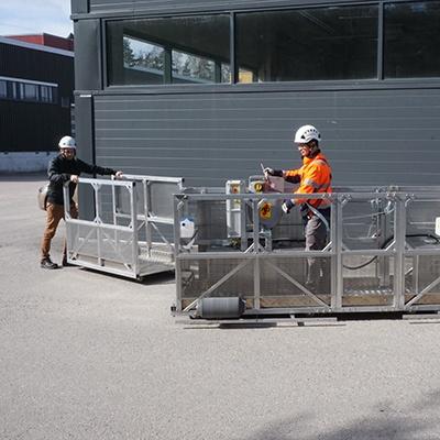 Rostek Modular Suspended Platform- MSP