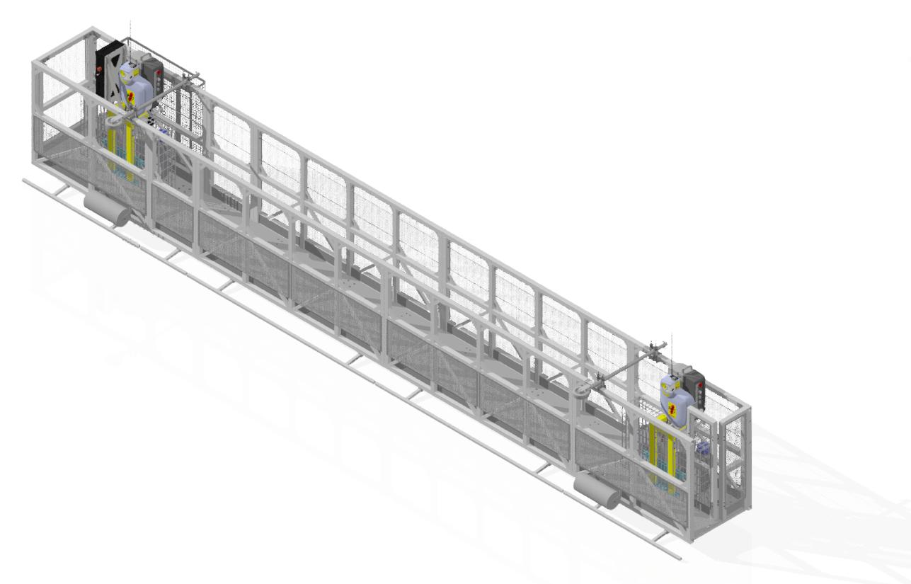 Modular Suspended Platform MSP