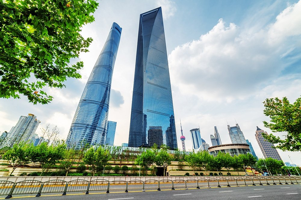 The Shanghai Tower and the Shanghai World Financial Center.jpg
